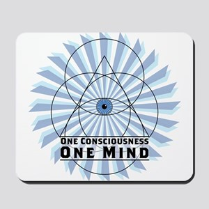3rd Eye - One Consciousness One Mind Mousepad
