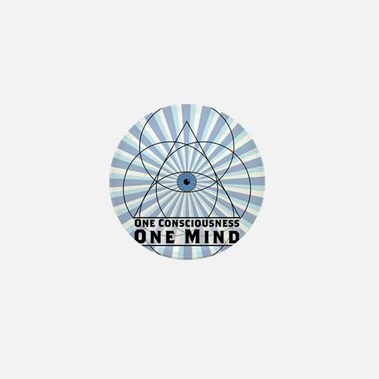 3rd Eye - One Consciousness One Mind Mini Button