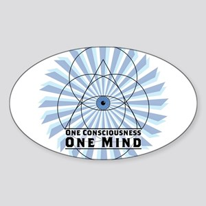 3rd Eye - One Consciousness One Mind Sticker
