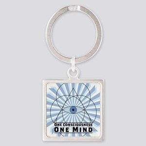 3rd Eye - One Consciousness One Mind Keychains