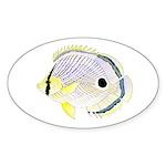 Foureye Butterflyfish Sticker