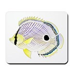 Foureye Butterflyfish Mousepad