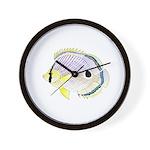 Foureye Butterflyfish Wall Clock