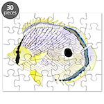Foureye Butterflyfish Puzzle