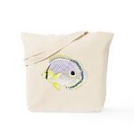 Foureye Butterflyfish c Tote Bag