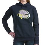 Foureye Butterflyfish c Hooded Sweatshirt