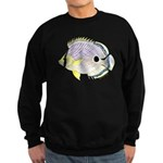 Foureye Butterflyfish c Sweatshirt