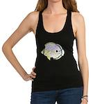 Foureye Butterflyfish c Racerback Tank Top