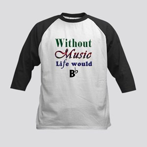 Without Music Baseball Jersey