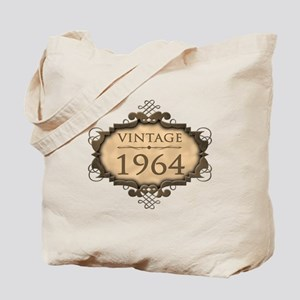 1964 Birth Year (Rustic) Tote Bag