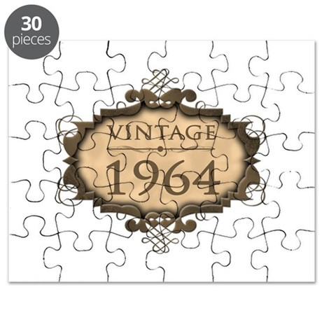 1964 Birth Year (Rustic) Puzzle
