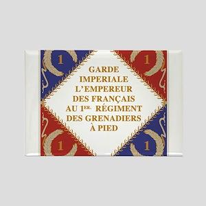 Napoleon's Guard flag Magnets