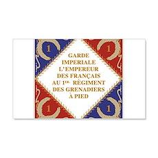 Napoleon's Guard flag Wall Decal
