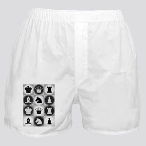 Chessboard Pattern Boxer Shorts