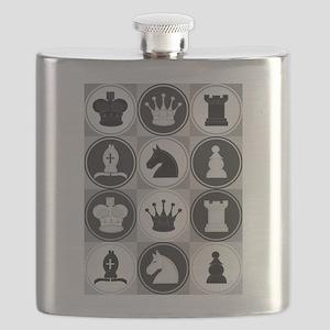 Chessboard Pattern Flask