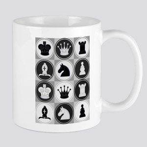 Chessboard Pattern Mugs