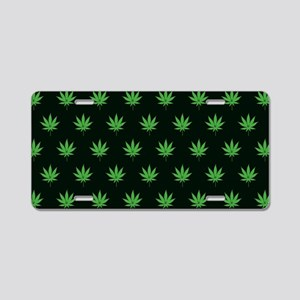 Pot Weed High Hippie Cronic Aluminum License Plate
