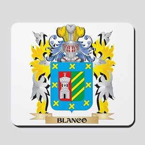 Blanco Coat of Arms - Family Crest Mousepad