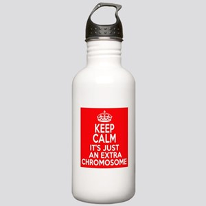 Stay Calm Chromosome Stainless Water Bottle 1.0L