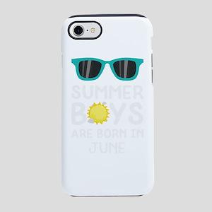 Summer Boys in JUNE iPhone 7 Tough Case