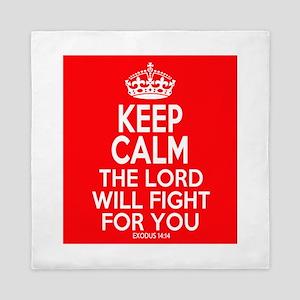 Keep Calm Exodus Queen Duvet