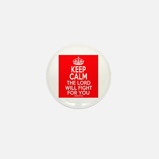 Keep Calm Exodus Mini Button