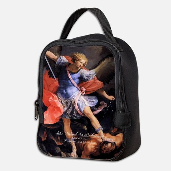 Saint Michael the Archangel Quis ut Deus Neoprene