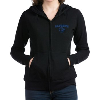 Catcher - Blue Women's Zip Hoodie