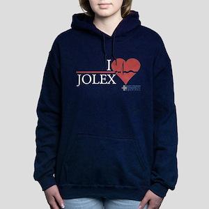 I Heart JOLEX - Grey's Anatomy Woman's Hooded Swea