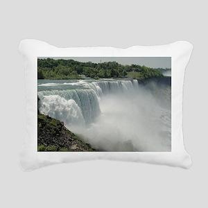 What a View Rectangular Canvas Pillow