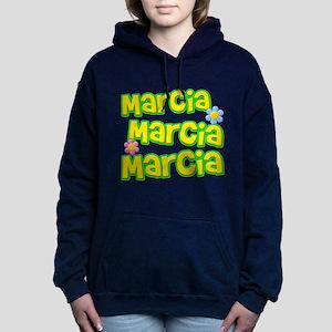Marcia, Marcia, Marcia Woman's Hooded Sweatshirt
