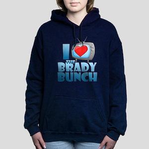 I Heart The Brady Bunch Woman's Hooded Sweatshirt