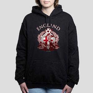 England Soccer Woman's Hooded Sweatshirt