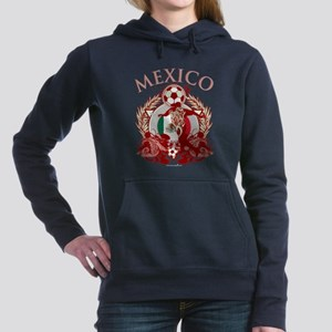 Mexico Soccer Woman's Hooded Sweatshirt