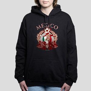 Mexico Soccer Woman's Hooded Sweatshirt