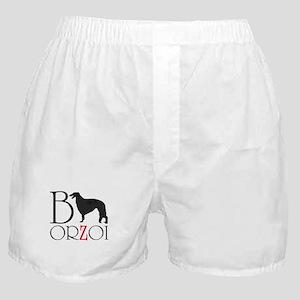 Borzoi Logo Boxer Shorts
