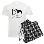 Borzoi Logo Pajamas