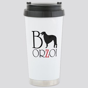 Borzoi Logo Travel Mug