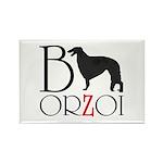 Borzoi Logo Magnets