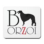 Borzoi Logo Mousepad