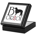 Borzoi Logo Keepsake Box