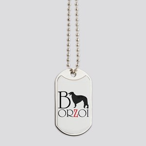 Borzoi Logo Dog Tags