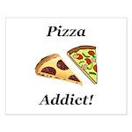 Pizza Addict Small Poster