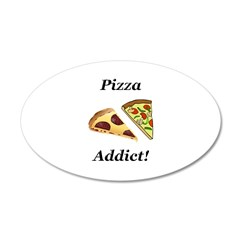 Pizza Addict Wall Decal