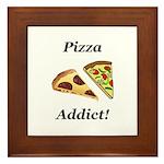 Pizza Addict Framed Tile