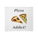 Pizza Addict Throw Blanket