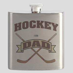 Hockey Dad Flask