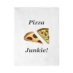 Pizza Junkie Twin Duvet