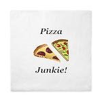 Pizza Junkie Queen Duvet