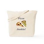 Pizza Junkie Tote Bag